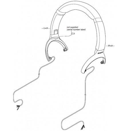 Sony Headphone Head Band for WH1000XM3 - BLACK