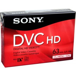 Sony Mini DV DVC HD Digital Cassette