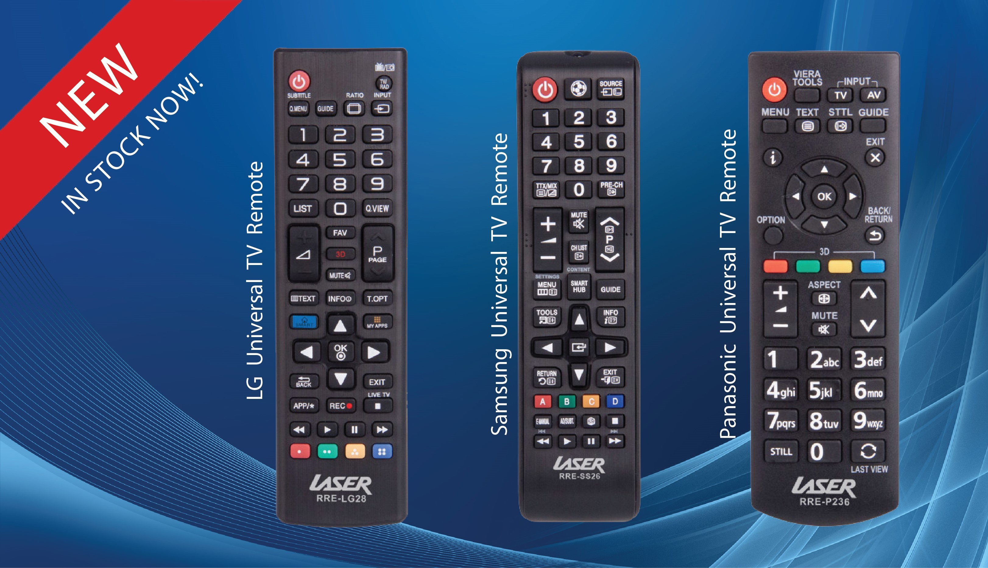 New Remotes